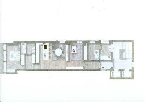 Brescia – Trilocale Centro Storico